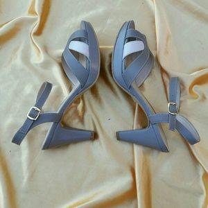 Retro Inspired Leather Heels